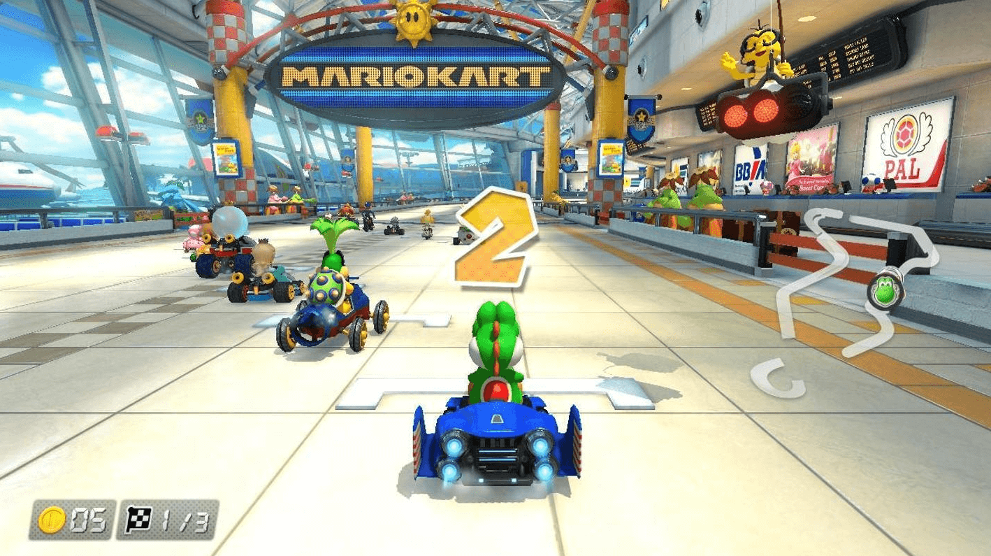 Mario Kart on Windows 10
