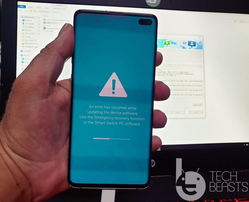 Fix Samsung Galaxy Emergency Recovery without Smart Switch