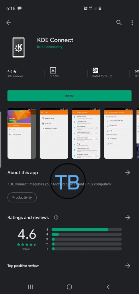 get Airdrop on Android