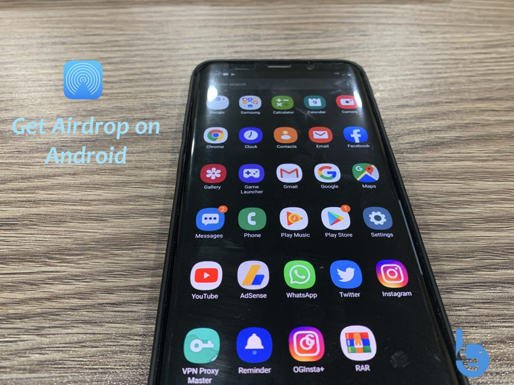 Airdrop on Android
