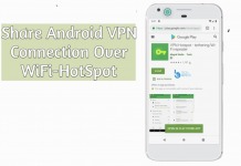 Share Android's VPN connection