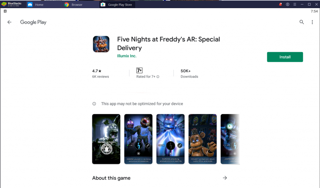 Five Nights at Freddy's AR Special Delivery for PC