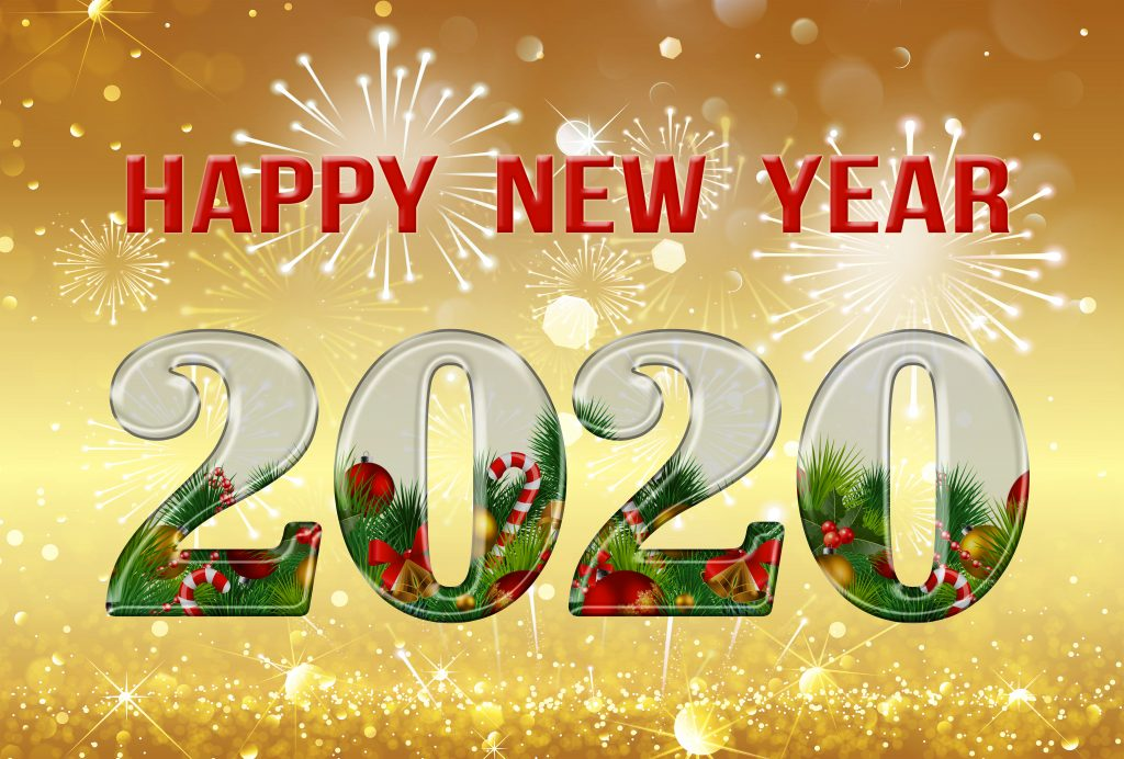 happy new year 2020 4k images