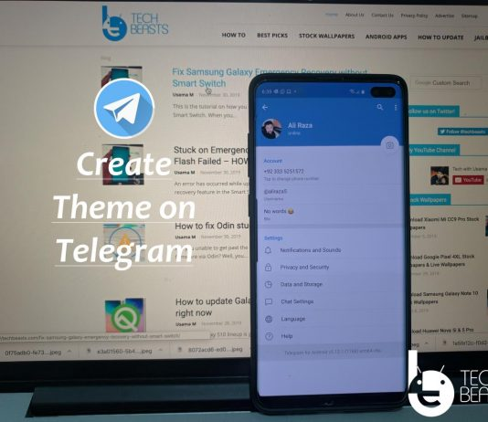 Create Your Own Theme in Telegram