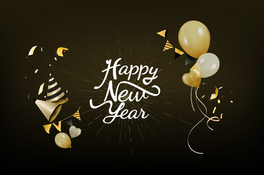 4K Happy New Year 2020 Wallpapers