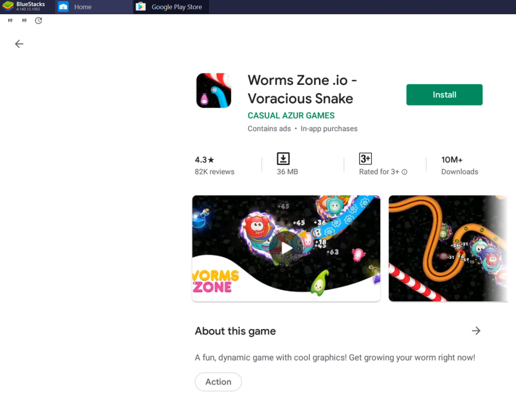 Worms Zone Voracious Snake for PC