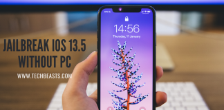 Jailbreak iOS 13.5 without Computer