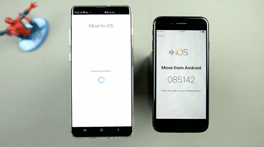 Move to iOS could not communicate