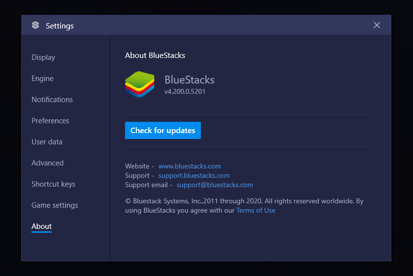 BlueStacks 4.2