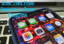 Stop Tiles From Resiz­ing in Group FaceTime