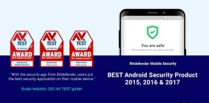 Bitdefender Mobile Security for Androir