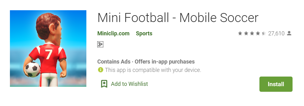 Mini Football for Mac