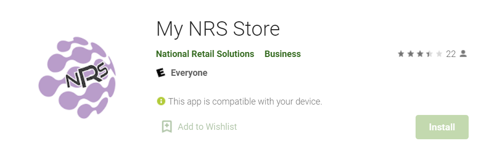 My NRS Store for Mac