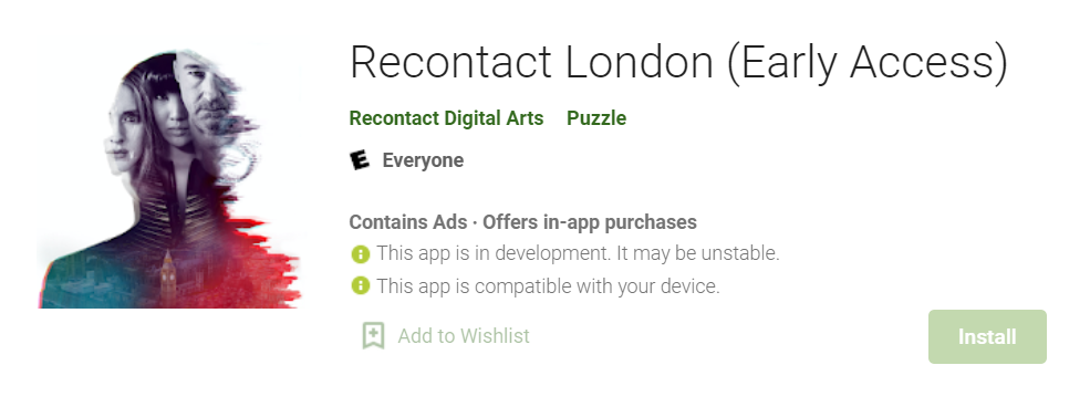 Recontact London for Mac