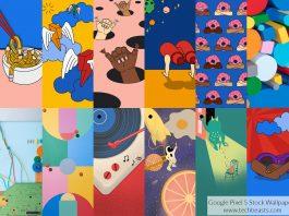 Google Pixel 5 Stock Wallpapers