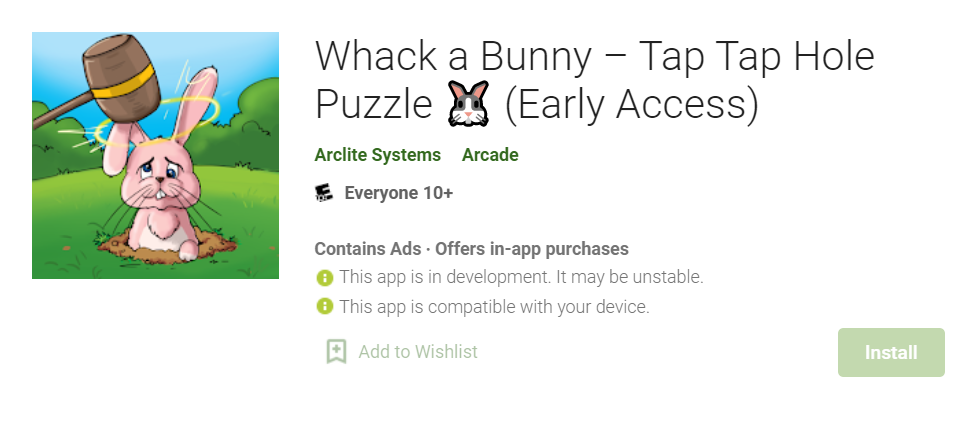 Whack a Bunny for Mac