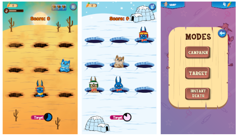 Whack a Bunny app PC download