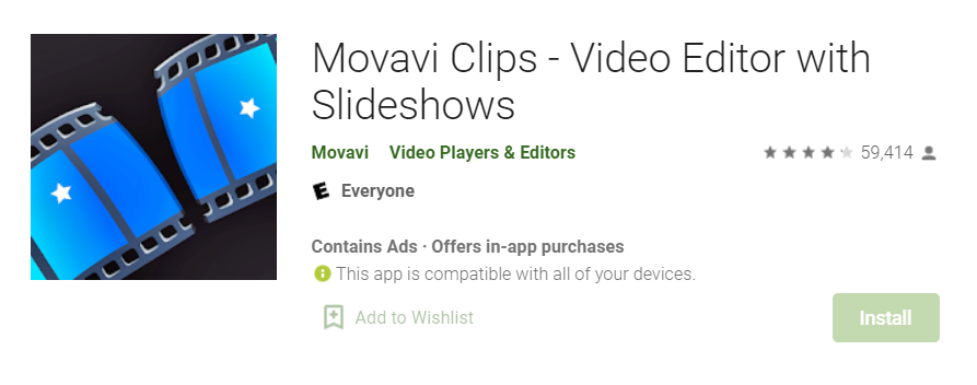 Movavi Clips for PC
