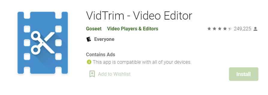 VidTrim for Mac