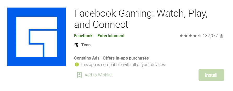 Facebook Gaming for Mac