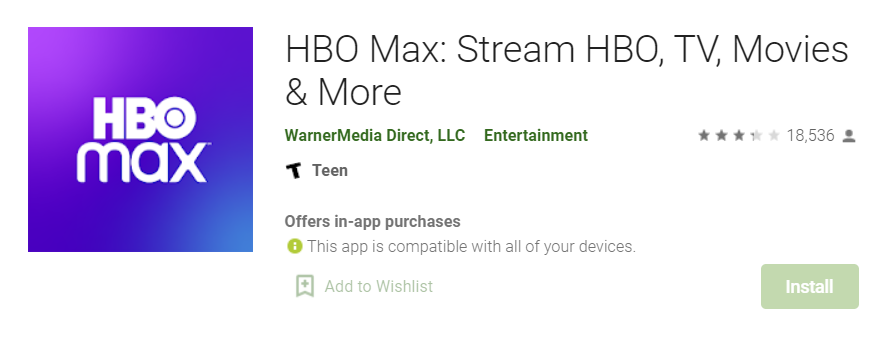 HBO Max for Mac