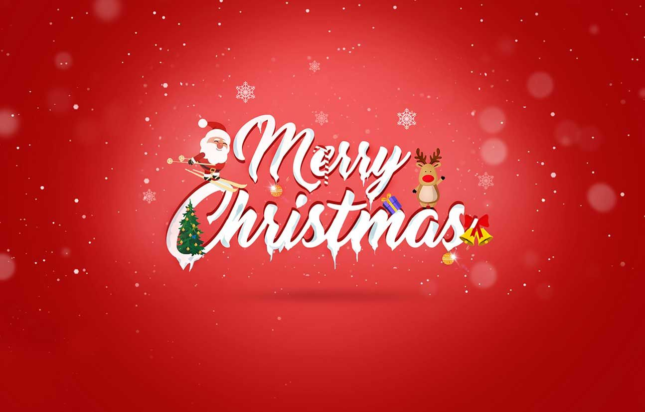 happy xmass wallpaper