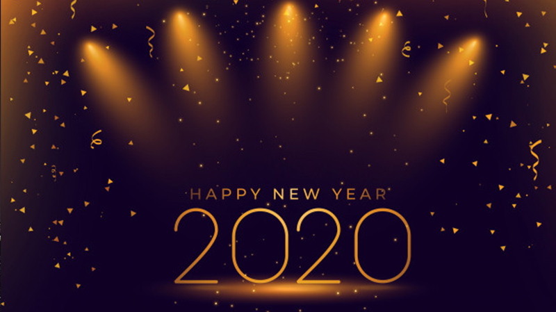 happy new year 2021 hd wallpaper