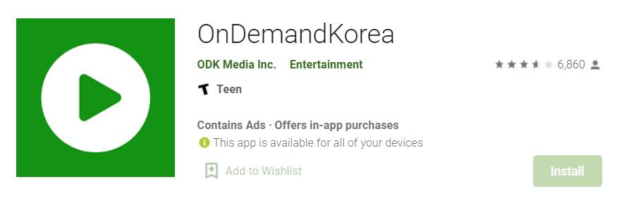 OnDemandKorea for Mac