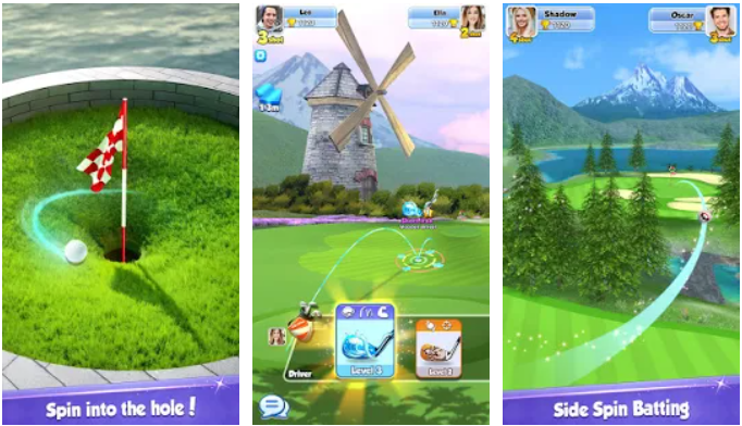 Golf Rival app on Windows
